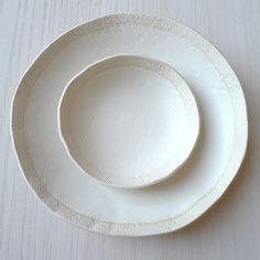 elephant ceramics white bowls