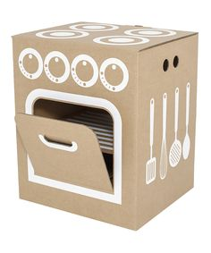 Craft inspiration-Little Cardboard Kitchen