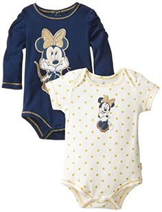 Disney Baby Girls Minnie Mouse 2-Pack Bodysuits Gold Trim Ruffles, Blue, 6-9 Months Disney http://www.amazon.com/dp/B00K2V1KIS/ref=cm_sw_r_pi_dp_1xDbvb1B29GN1