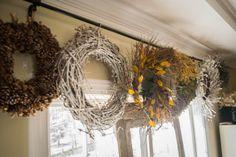 Wreath Storage Bar