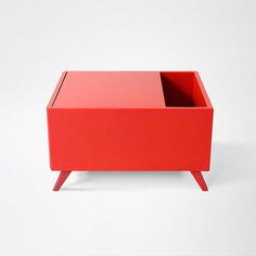 Products we like / Coffee Table / Red / Storage / Scandinavian Design / Furniture / at Ptud