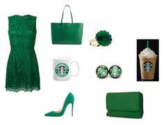 """Starbucks green"" by marissarocks-1 on Polyvore featuring art"