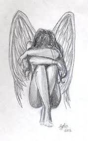 Image result for angel drawing
