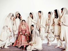 Bridesmaids x Indian Fashion Style x Dress x Wedding | Brought you by BisouNYC, premium South Asian designer apparel available for worldwide delivery