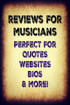 Indie Music Plus will give you a constructive yet positive review of your music when you purchase one of our Indie Music Reviews packages! Even more, we will post the review on our website for 6 months guaranteed! There are extra features in the higher packages that will be of great value to you, so please consider them.  You will be guaranteed to be seen and heard on our blog because we promote it HARD!!! We want people to hear and read our reviews, so we'll promote your Indie Music Review…