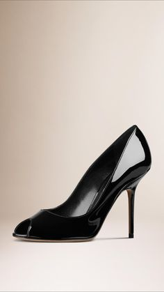 Patent Leather Pumps | Burberry
