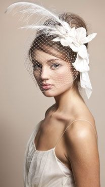 I can see Alaina in this headpiece or a variation of this...