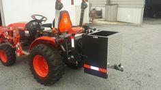 ballast box (custom) 3 Point Attachments, Custom Boxes, Tractors