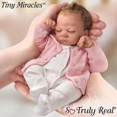 baby dolls that look real | ... that Look Real: Ashton Drake Tiny Miracle Emmy So Truly Real Baby Doll