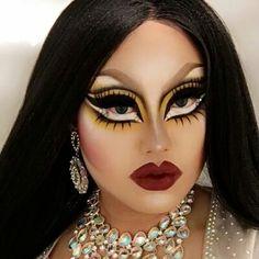 Kim Chi Drag Queen Makeup