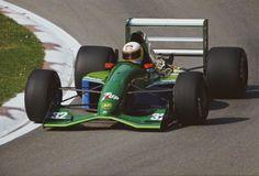 Bertrand Gachot (Jordan-Ford V8, 191). Imola Testing, 1991