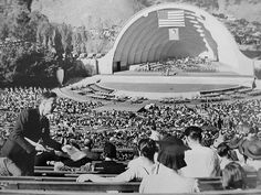 vintage hollywood bowl