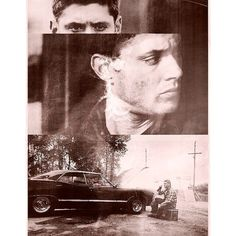 Dean Winchester My Two Favorite Boys <3 ❤ liked on Polyvore featuring supernatural