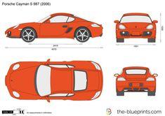Blueprints > Cars > Porsche > Porsche Cayman S M4 Gts, Airplane Drawing, Cayman S, Car Vector, Signwriting, Nissan 350z, Bmw M4, Art Station, Car Drawings