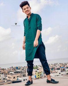Eid Mubarak Everyone❤️ Clothing by Edit by Cute Boy Photo, Photo Poses For Boy, Boy Poses, Kurta Men, Photoshoot Pose Boy, Sr K, Celebrity Faces, Cute Boys Images, Photography Poses For Men