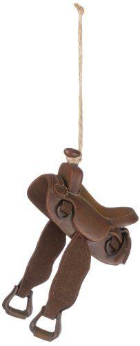 Brown Cowboy Saddle Ornament  http://www.amazon.com/dp/B00FD69CIC/ref=cm_sw_r_pi_dp_aYmuwb0B52HVB