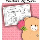My Book of Valentine's Day Words