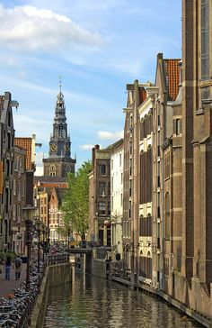 Amsterdam, Netherlands - I will always remember it as the place where prostitutes where business suits!!!