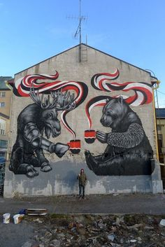 Street art in Finland by Pallo. Photo by Pallo.
