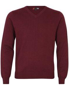 Klassikeren og favoritten! Stilig genser i deilig og myk Pima cotton. Rød