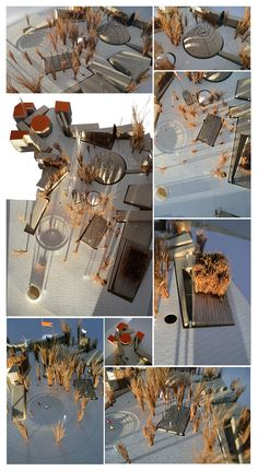 draftworks* proposal for 'House of Fairytales' Competition Odense, Denmark, 2013 model