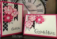 TREASURE TROVE: Flower Shop Bundle and Pansy Punch Cards