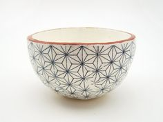 Hey, I found this really awesome Etsy listing at https://www.etsy.com/listing/201673681/geometric-bowl-pottery-bowl-handmade