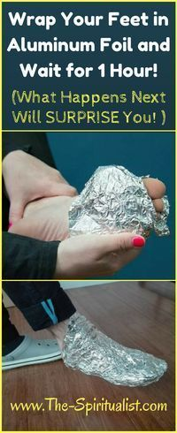 Aluminum foil for pain and fatigue