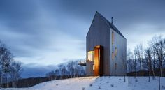 Rabbit Snare Gorge in Cape Breton, Canada by Omar Gandhi Architect and Design Base 8
