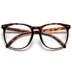 6f35c0eabc37a Large Oversized Thin Frame Round Clear Lens Horn Rimmed Keyhole Bridge Non  Prescription Unisex Wayfarer Nerd Glasses - Beautiful Daily Shares