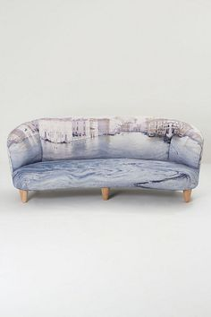 Oh dear God. This sofa is dreamy! #anthrofave #juvenilehalldesign