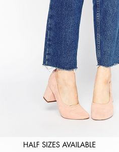 Loving these blush block heels from @asos, and not just because they have my name :) #blockheel #suede #fall2016