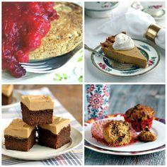 Vegan, sugar-free, gluten-free Thanksgiving recipes via The Sweet Life!