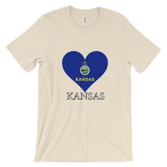 Kansas Heart State Flag