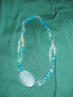 Necklace sea water