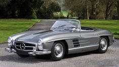 """This <a href=""""http://rmauctions.com/ve15/villa-erba/lots/1958-mercedes-benz-300-sl-roadster/1073601"""">1958 Mercedes-Benz 300 SL Roadster</a> is estimated to fetch between €850,000 and €1,100,000. Photo: Tim Scott"""