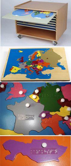 Puzzle de l'Europe