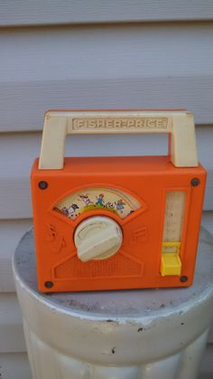 "Vintage Fisher Price ""The Candy Man"" Radio by CollectorsAgency on Etsy"