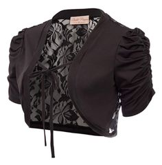 The lace shrug suitable for wedding, party, office, daily casual in any season.