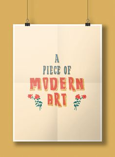 Hand lettering Poster inspired from the vernacular hand lettering widely popular in India.