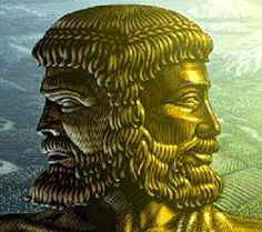 Roman mythology Janus kept the gate of Heaven so he became god of doors and gates.He was important because a house is only as strong as its doors.He was one of the minor gods.It was believed that his face was split in two since a door can let you in or out.It is said one side gave bad advice the other good.Because of this  his name was given to the first month of the year.In January we look back on the last year and foward to the next.He usually drove people insane and people killed…
