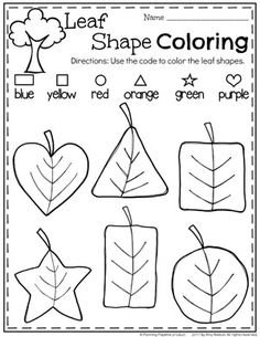 Apples & Where They Come From! Preschool Theme Worksheets