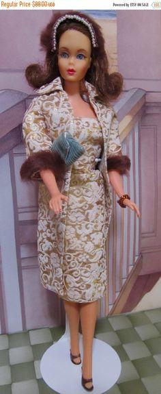 ON SALE 50% Vintage Barbie Doll Mattel 1966 Japan by DressMeDoll