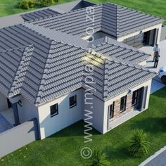 4 Bedroom House Plan – My Building Plans South Africa 4 Bedroom House Plans, Family House Plans, My Building, Building Plans, Tuscan House Plans, Open Plan, Master Suite, My Dream Home, South Africa