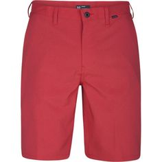 Hurley Men's Dri-FIT Chino Shorts, Size: 36, Red