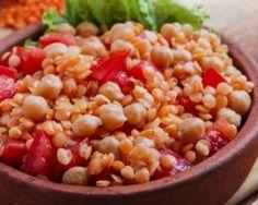 Cocotte végétarienne brûle-graisse Croq'Kilos de lentilles et pois chiches aux légumes