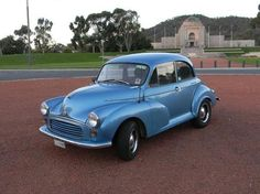 1957 morris minor - My husband's first car was a Morris Minor - He was 14!  Cool little car!