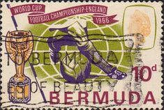 Bermuda 1966 Football World Cup Set Fine Mint SG 193 4 Scott 205 6 Other Commonwealth stamps here