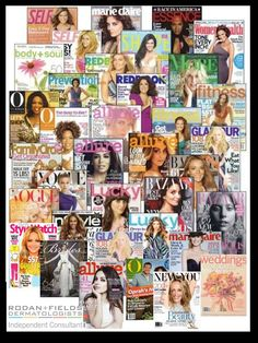 These magazines have all covered the amazing Rodan + Fields skin care regimens WITHOUT one paid advertisement. What treatment would be recommended for you? Take the quik skincare consultatioN (be sure to click all the way to enter your email to get the full reco). Change your skin today: https://erikawerner.myrandf.com/Pages/OurProducts/GetAdvice/SolutionsTool