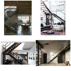kyle asked: I'm planning a warehouse renovation and we're trying to decide on a style for the new stairway. Which of these do you like best?